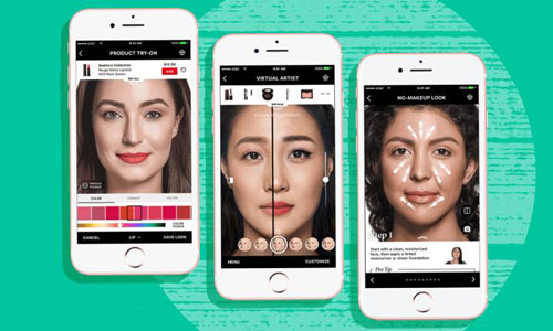 Technology from Modiface powers AR in Sephora's app
